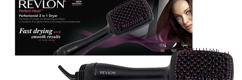 test et avis sur la brosse soufflante de la marque Revlon